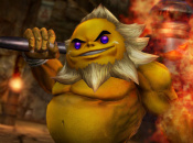 Darunia Rolls and Pounds His Way Through Enemies in Hyrule Warriors
