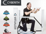 The Cyberith Virtualizer Combines Wii Remote Controls, Oculus Rift and a Treadmill