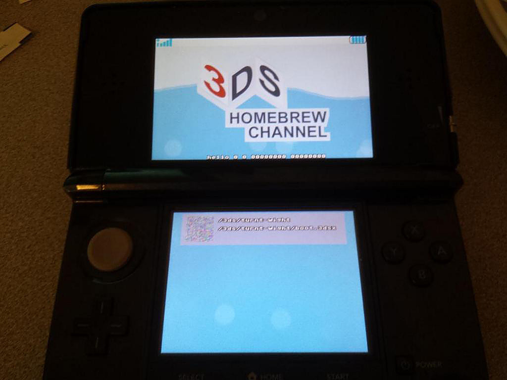 homebrew launcher 3ds roms download