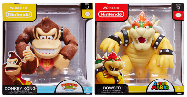 Jakks Pacific World of Nintendo 6- Inch Figures
