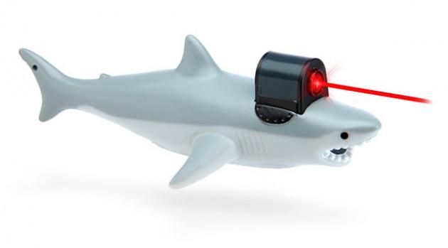 """""""A laser shark? Yep, you got me."""""""