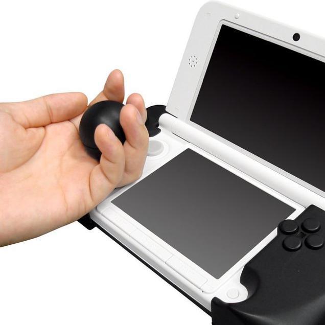 cyber gadget unveils gigantic joystick peripheral for 3ds