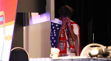 American pre-match