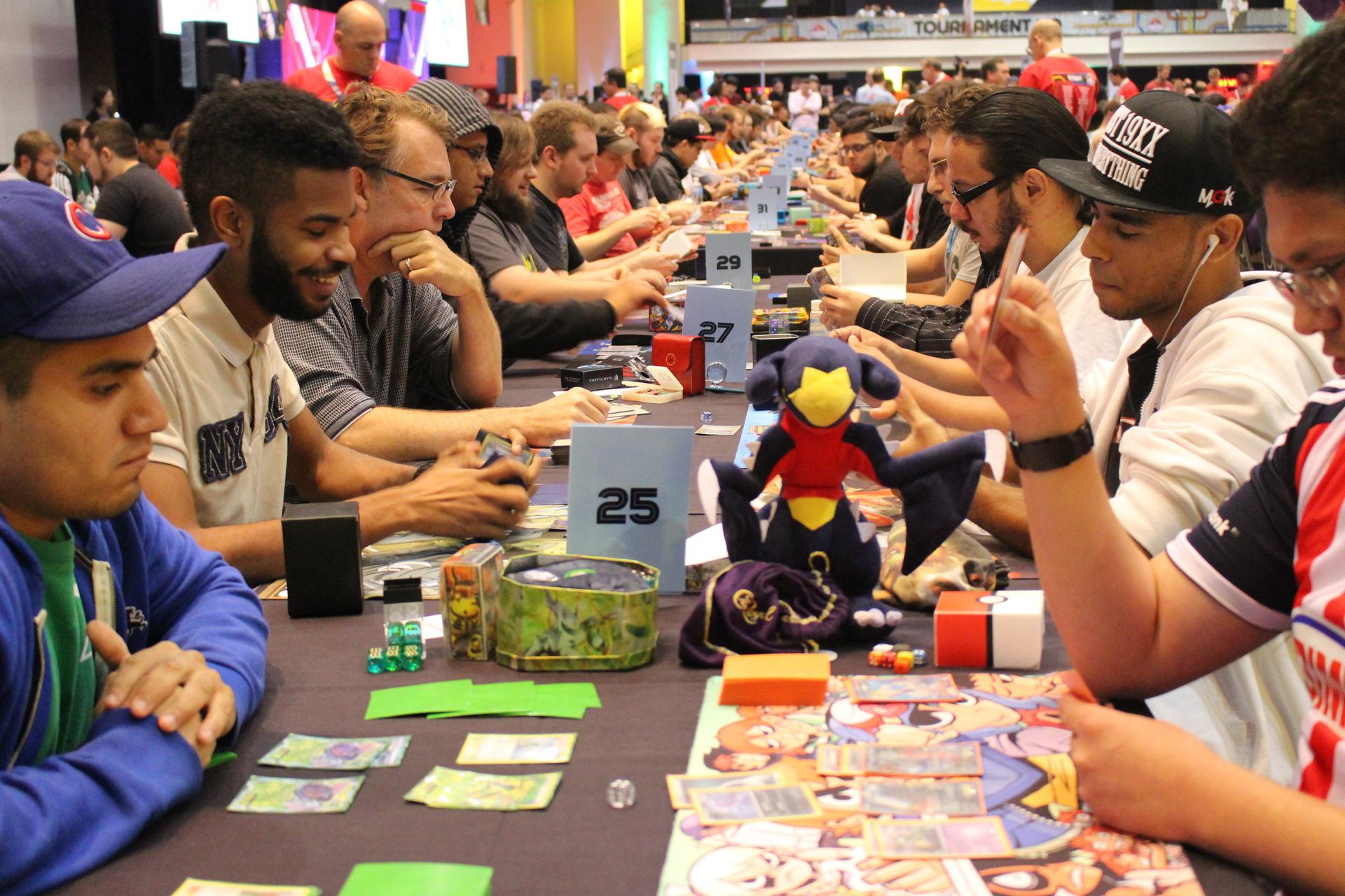 Organise Pokémon contests