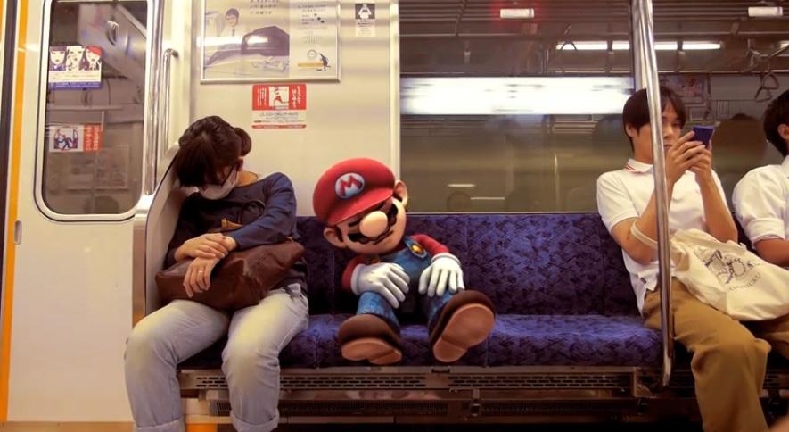 Mario in Real Life Tokyo