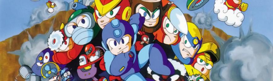 Mega Man 2 Banner
