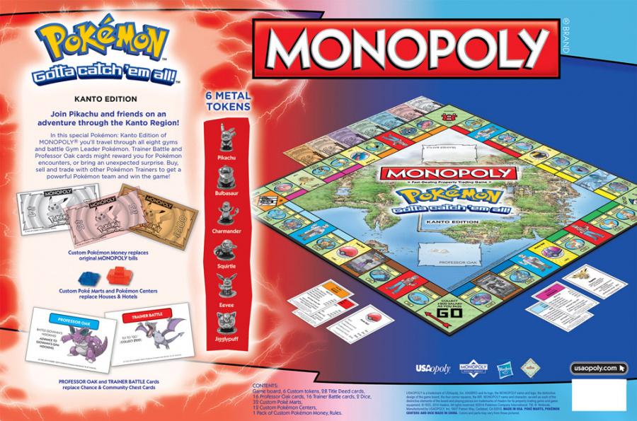 Pokemon Monopoly 1