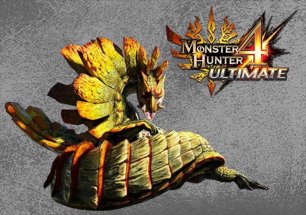 Monster hunter 4 snake