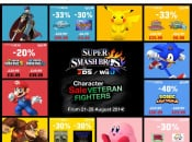 "Nintendo Confirms Loads of ""Veteran Fighters"" eShop Discounts to Celebrate Super Smash Bros."
