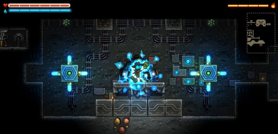 Steam World Dig Screen