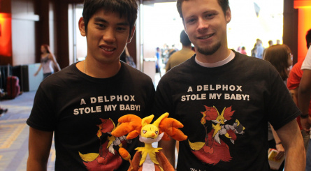 """A Delphox stole my baby!"" Aussies invade D.C."
