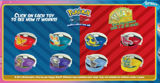 Pokemon Maccas Promotion