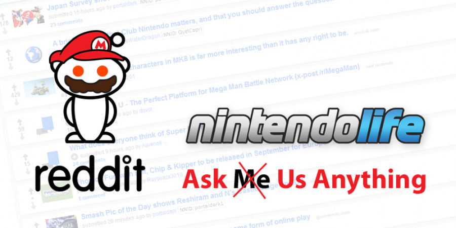 Site News: We're Doing a Reddit AMA Today, So Ask Your