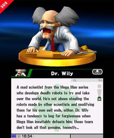 Dr Wily Trophy