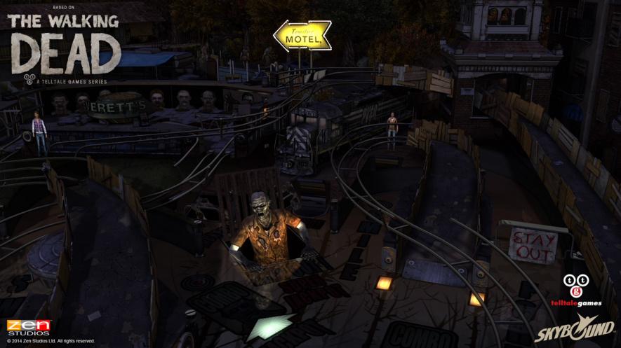The Walking Dead Pinball Dark Effect