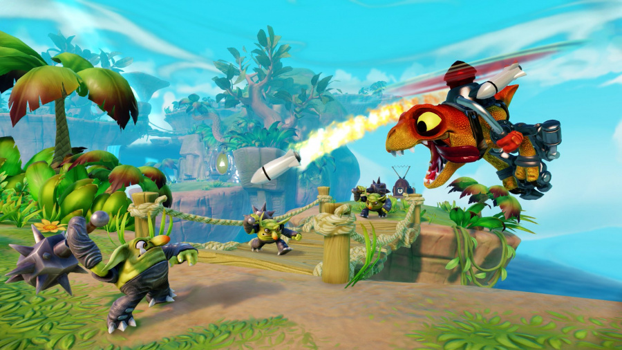 Skylanders Trap Team Screen