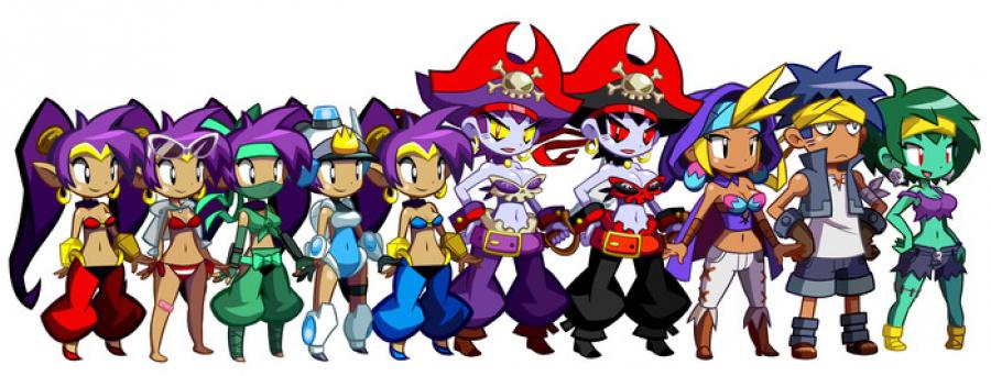 Video: Flying Carpet Level in Shantae: Half-Genie Hero is ...