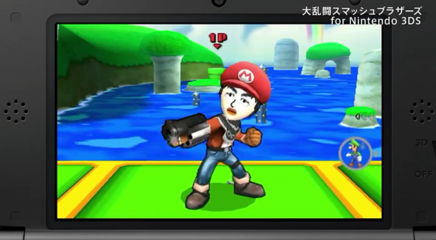 Smash 3 DS Mii Japan