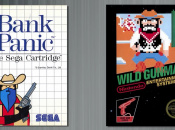 Nintendo's Wild Gunman And Sega's Bank Panic Face Off In A Deadly Shootout