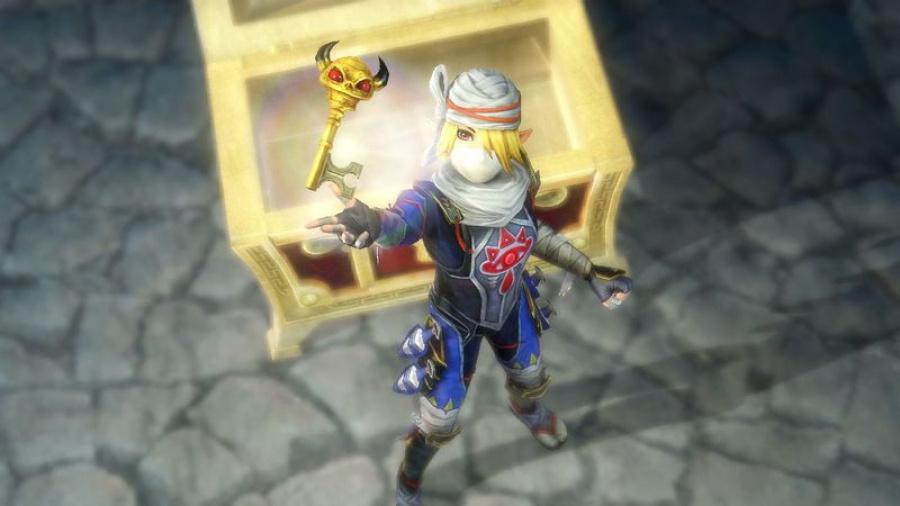 800 Px Hyrule Warriors Screenshot Boss Key Get Sheik