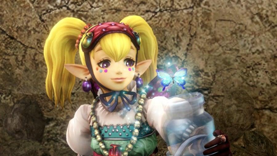 800 Px Hyrule Warriors Screenshot Agitha Butterfly