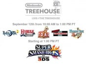 Game Schedule Outlined for Nintendo Treehouse Live Broadcast