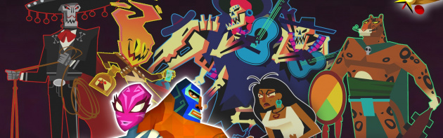 Guacamelee STCE Character Art