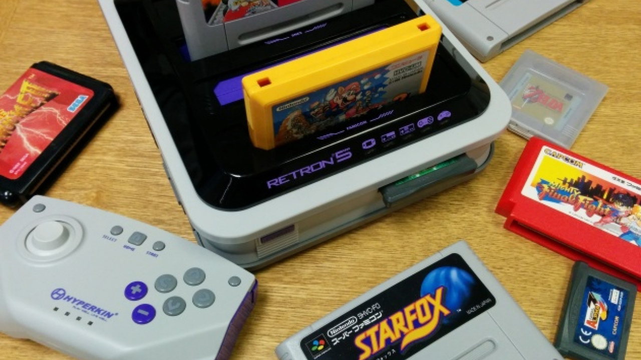 Hyperkin's RetroN 5 Console Allegedly Infringes On The