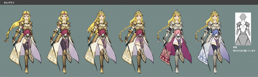 Zelda concept art - Hyrule Warriors
