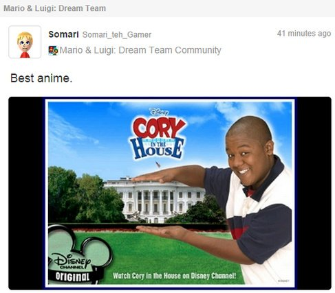 Mario Luigi Dream Team Bug Allows Miiverse Image Posting