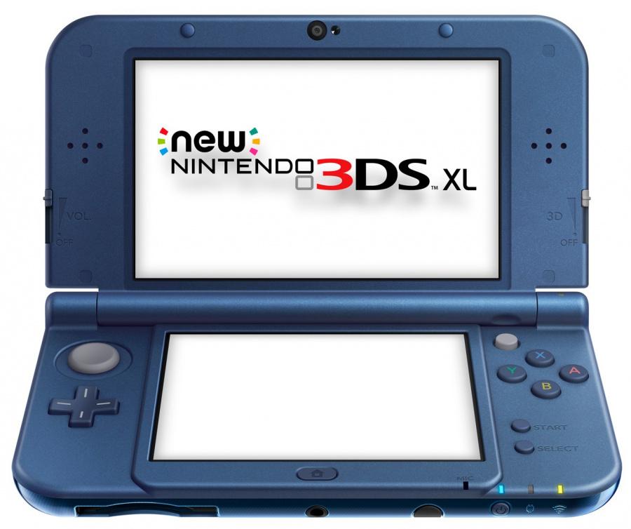 New Nintendo 3 DS XL Metallic Blue - Edited