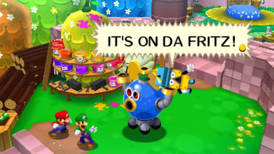 Mario & Luigi Busted