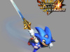 Sonic-Themed Felyne Drag Races into Monster Hunter 4 Ultimate