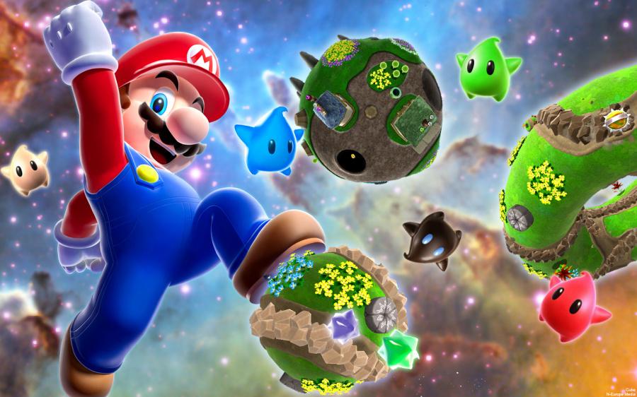 1301242 Super Mario Galaxy Wallpaper 1