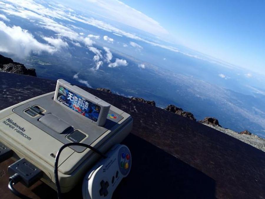 Super Famicom Mt Fuji 1