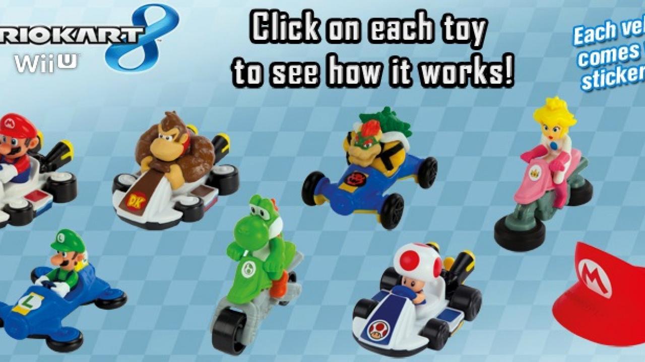 Australian McDonald's Now Offering Mario Kart 8 Toys In