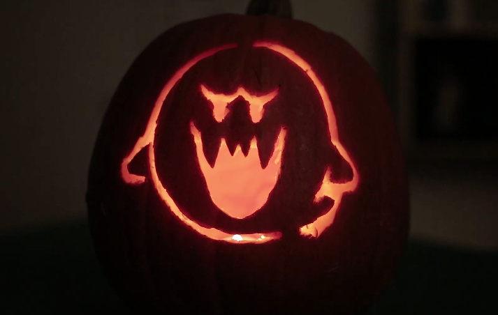 How To Carve The Perfect Luigi S Mansion Inspired Pumpkin
