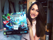 Let's Play Mario Kart 8 With Lydia