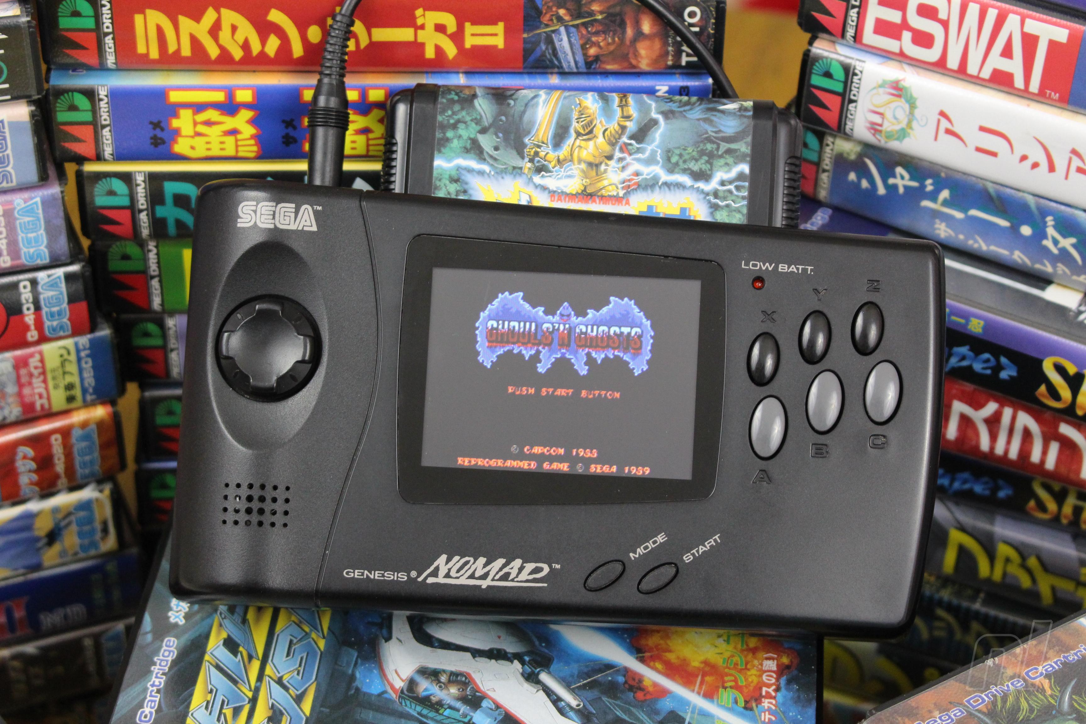 Hardware Classics The Sega Genesis Nomad Nintendo Life