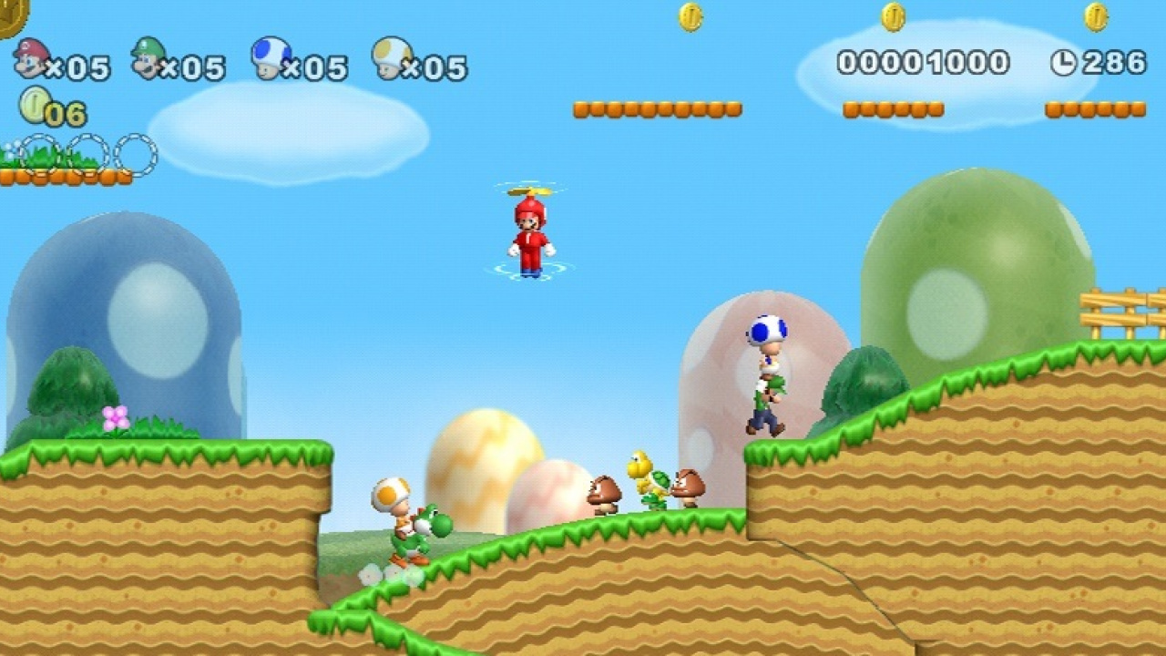 New Super Mario Bros Wii Hits 10 Million Sales Mark In The Us