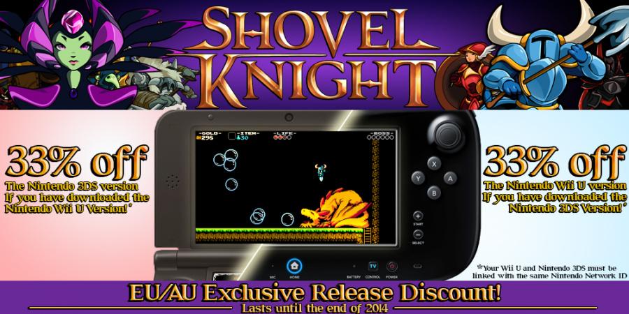 Shovel Knight Discount