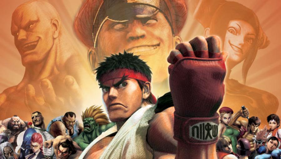 Super Street Fighter IV 3 D Edition
