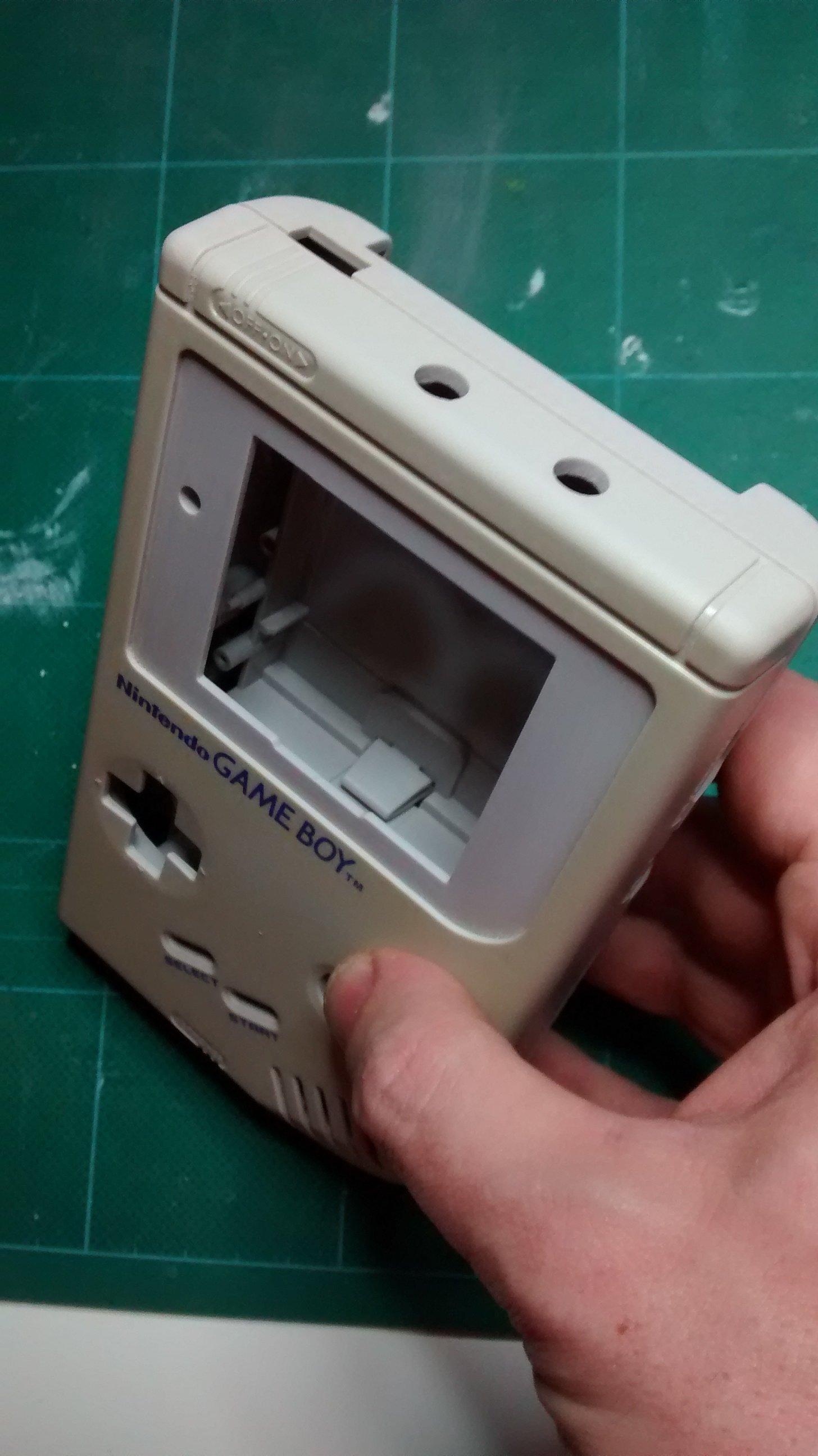 How To Create A Custom Game Boy From Start To Finish - Guide