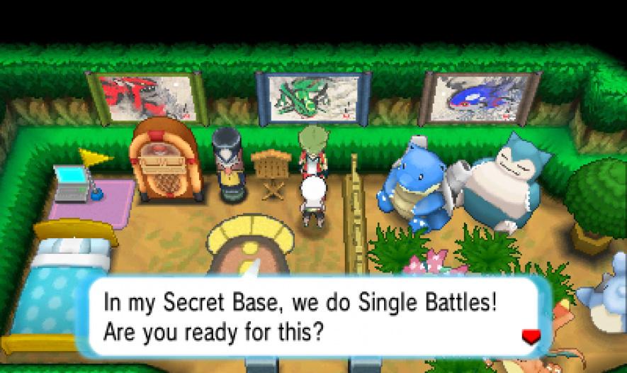 Pokemon Rubi Omega Nds Room