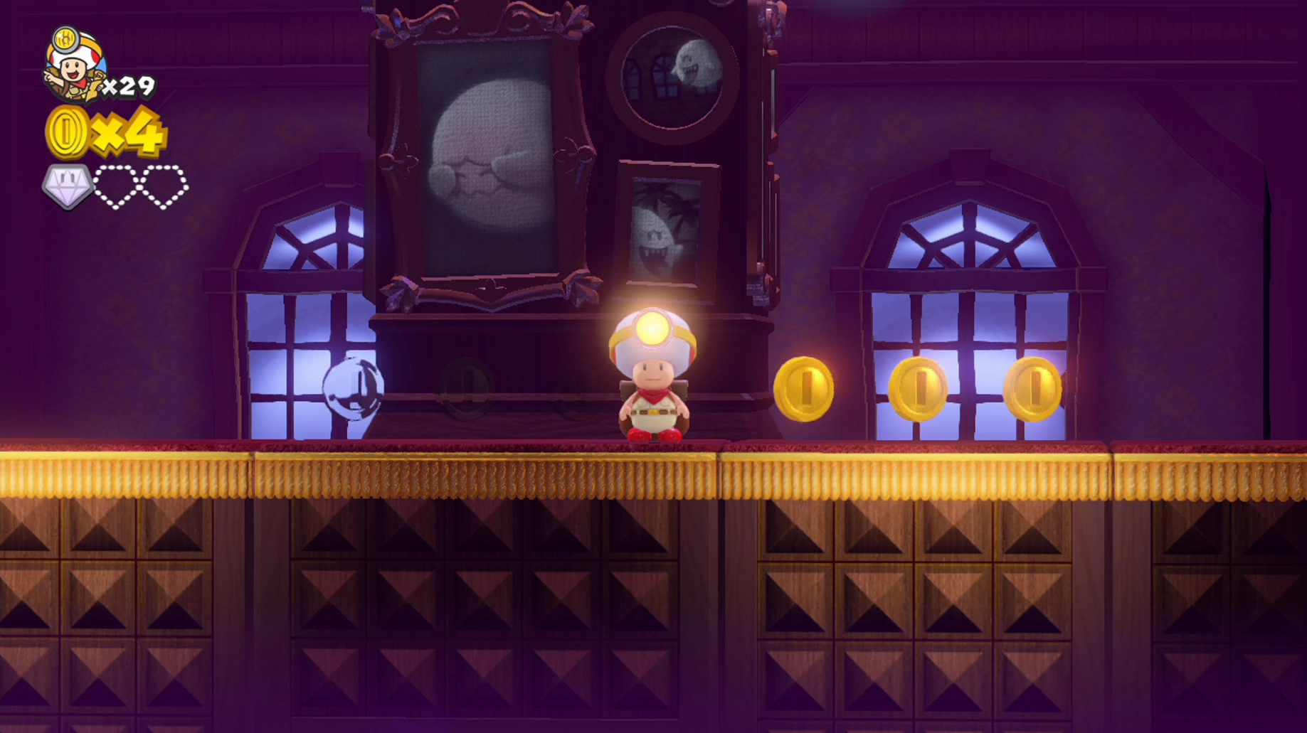 Guide collecting all the gems in captain toad treasure tracker