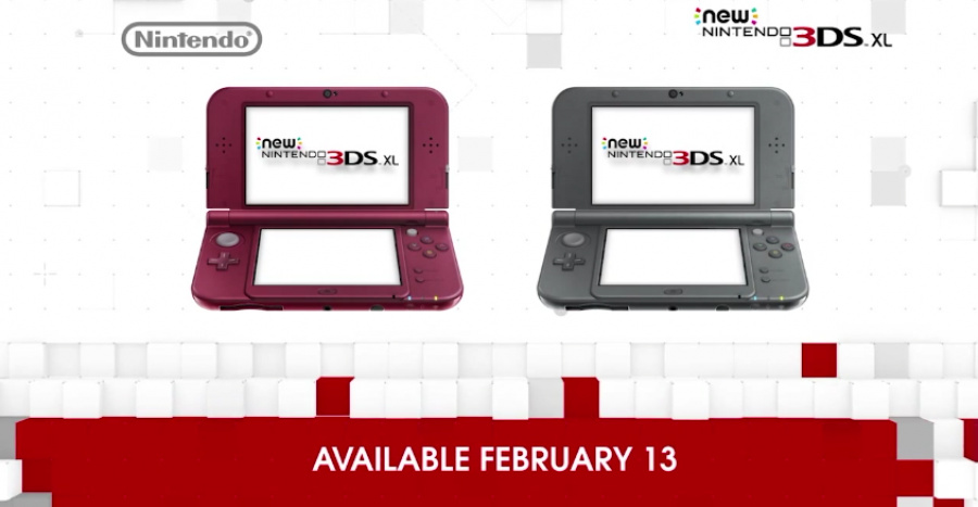 New 3 DS XL NA