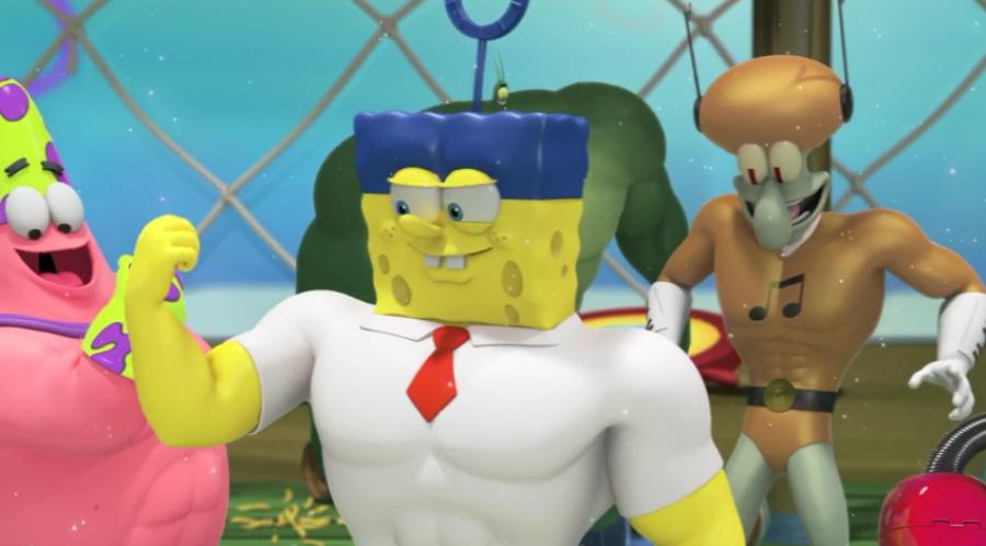 Spongebob Hero Pants