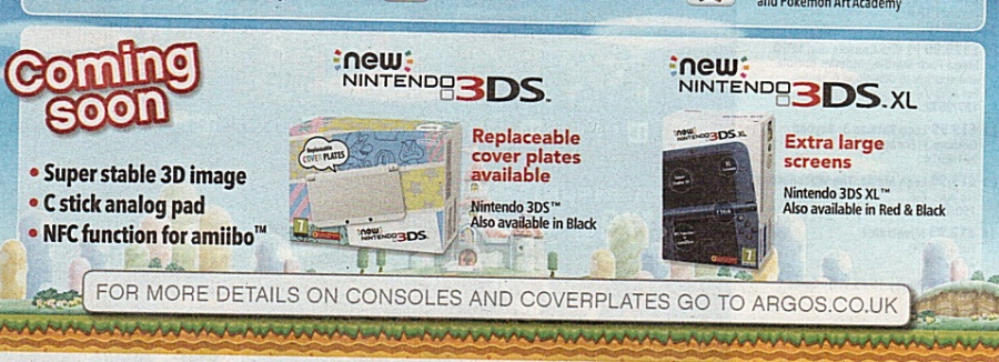 Argos New 3 DS Advert