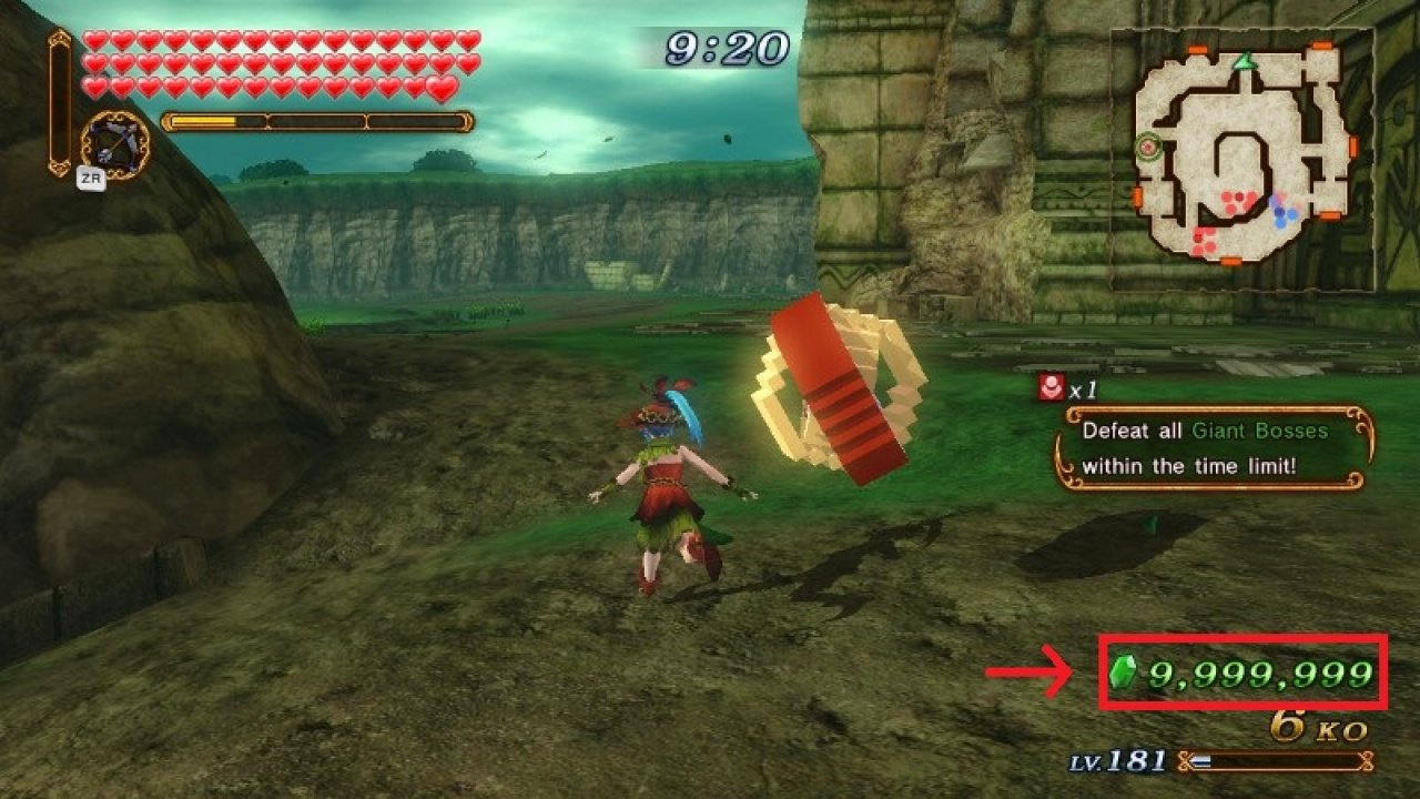 Max Your Rupees With This Fortuitous Hyrule Warriors Glitch Nintendo Life