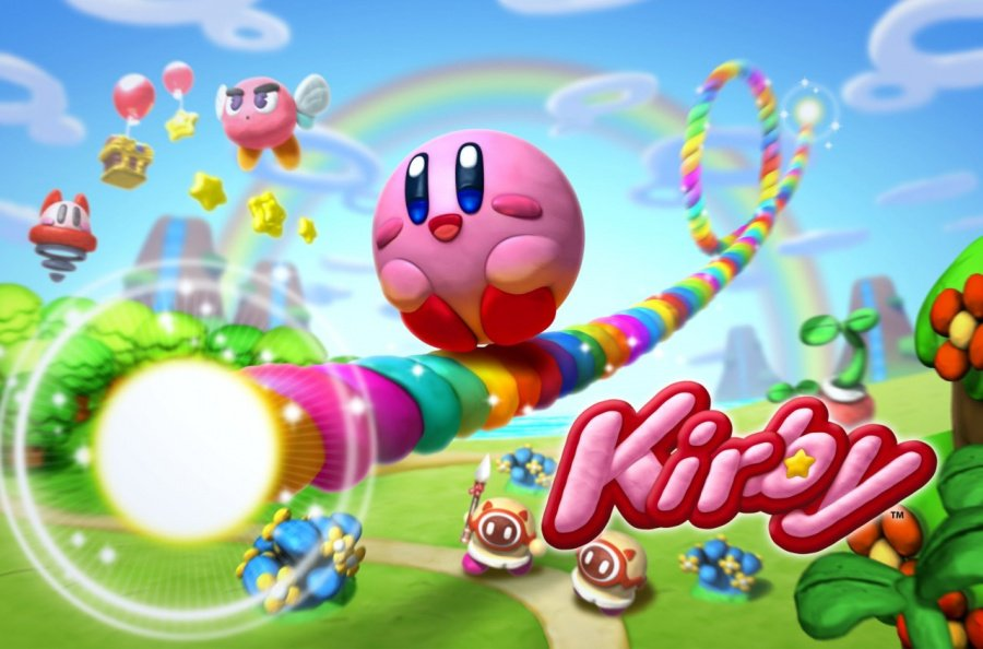 Kirby and the Rainbow Curse Art